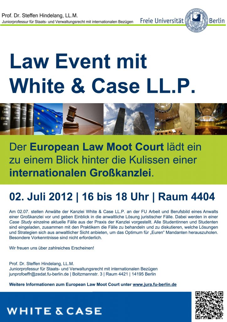 Plakat Law Event WandC